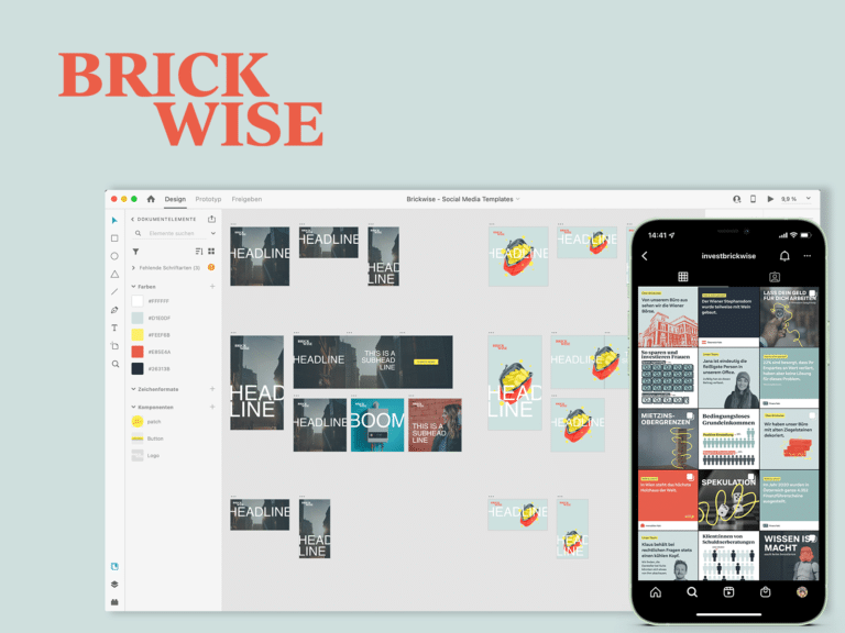 Anwert for Brickwise Social Templates